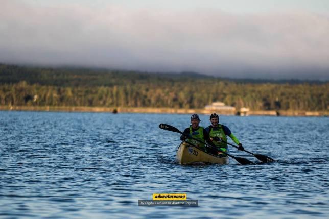 martin et danny canoe